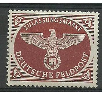 Znaczek Deutsches Reich / III Rzesza 1942 Mi 2A-Feld Czyste **