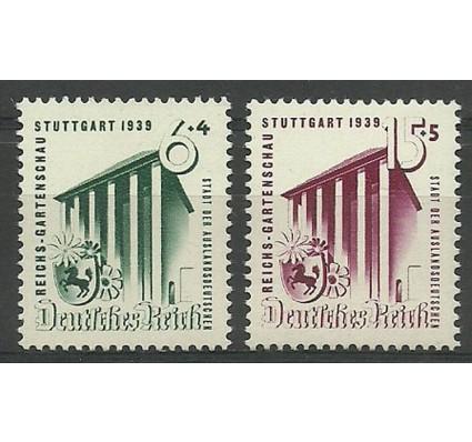 Znaczek Deutsches Reich / III Rzesza 1939 Mi 692-693 Czyste **