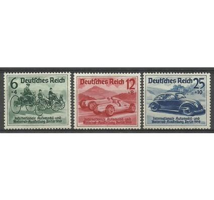 Znaczek Deutsches Reich / III Rzesza 1939 Mi 686-688 Czyste **