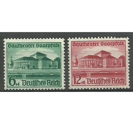 Znaczek Deutsches Reich / III Rzesza 1938 Mi 673-674 Czyste **