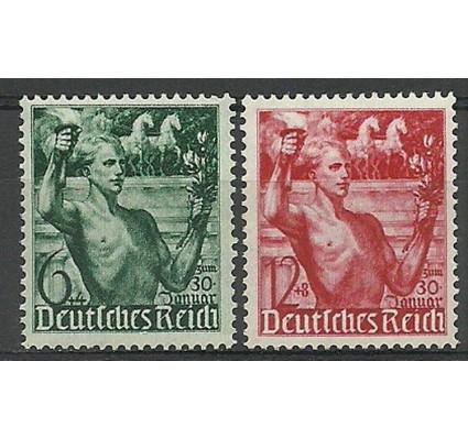 Znaczek Deutsches Reich / III Rzesza 1938 Mi 660-661 Czyste **