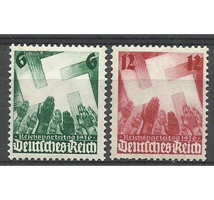 Znaczek Deutsches Reich / III Rzesza 1936 Mi 632-633 Czyste **