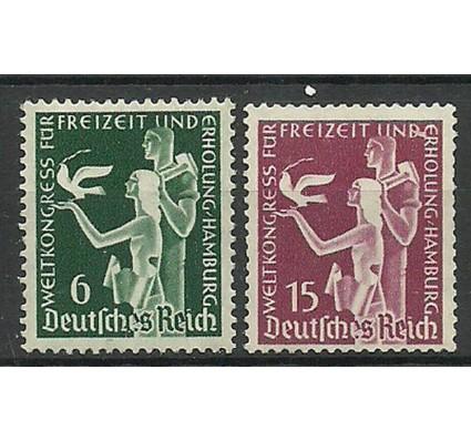 Znaczek Deutsches Reich / III Rzesza 1936 Mi 622-623 Czyste **