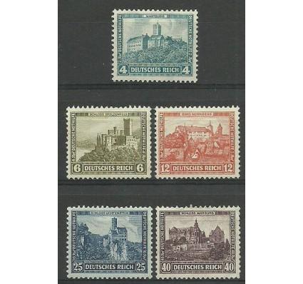 Znaczek Deutsches Reich / III Rzesza 1932 Mi 474-478 Czyste **
