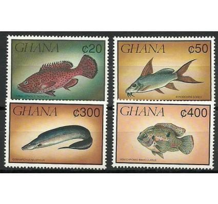 Znaczek Ghana 1991 Mi 1523-1524+1528-1529 Czyste **