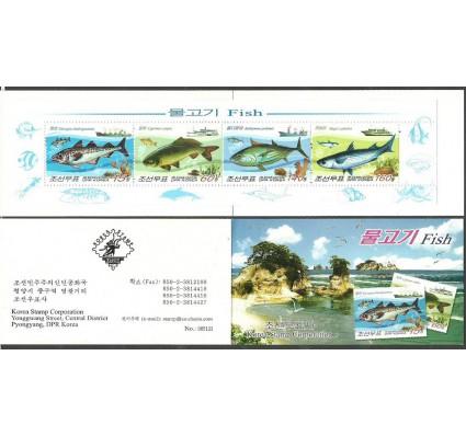 Znaczek Korea Północna 2009 Mi mh 5475-5478 Czyste **