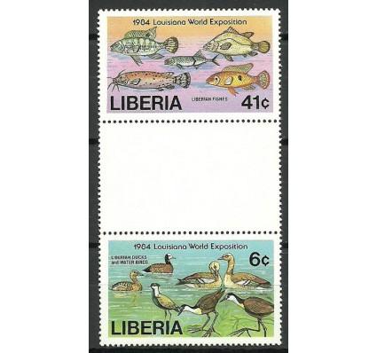 Znaczek Liberia 1984 Mi 1311+1313 Czyste **