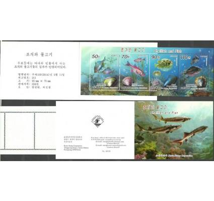 Znaczek Korea Północna 2014 Mi mh 6105-6108 Czyste **