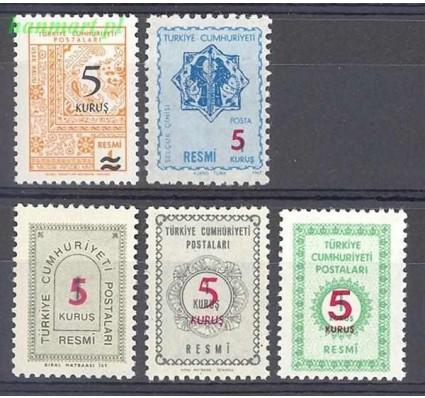 Znaczek Turcja 1977 Mi die 141-145 Czyste **