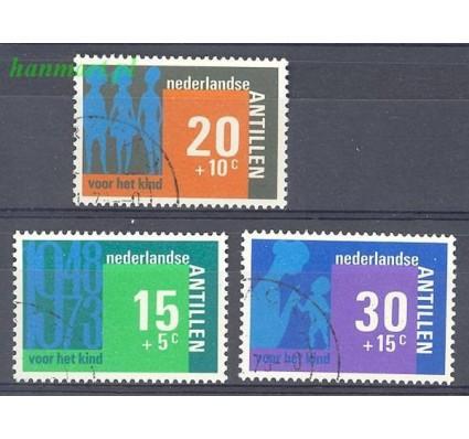 Antyle Holenderskie 1973 Mi 274-276 Stemplowane