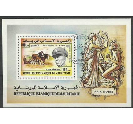 Znaczek Mauretania 1977 Mi bl 17 Stemplowane