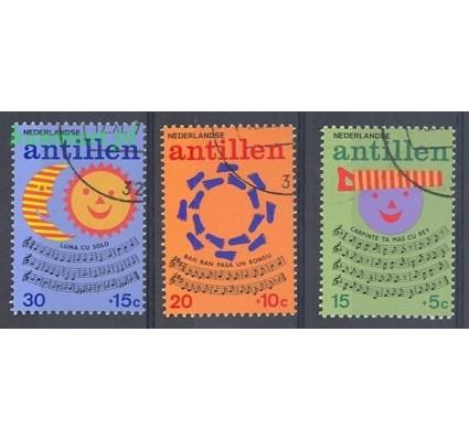 Antyle Holenderskie 1974 Mi 289-291 Stemplowane
