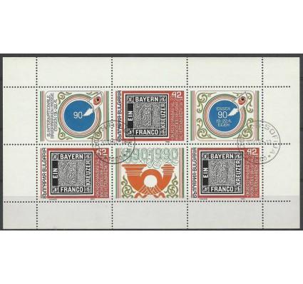 Znaczek Bułgaria 1990 Mi ark 3831 Stemplowane