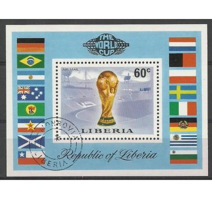 Znaczek Liberia 1974 Mi bl 72 Stemplowane