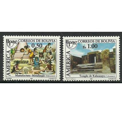 Znaczek Boliwia 1989 Mi 1105-1106 Czyste **