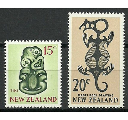 Znaczek Nowa Zelandia 1967 Mi 468-469 Czyste **