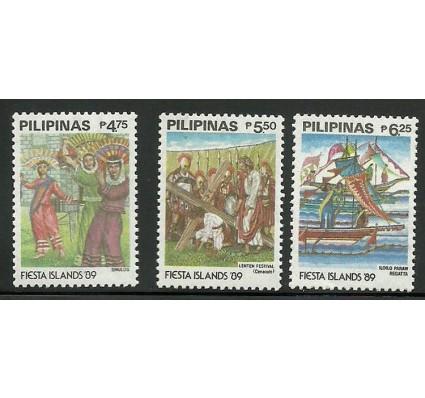Znaczek Filipiny 1989 Mi 1928-1930 Czyste **