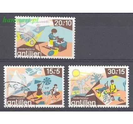 Znaczek Antyle Holenderskie 1975 Mi 307-309 Stemplowane