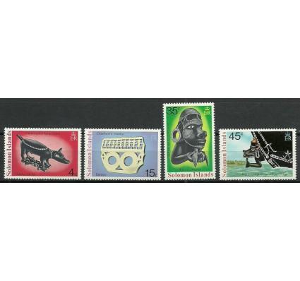 Znaczek Wyspy Salomona 1976 Mi 299-302 Czyste **