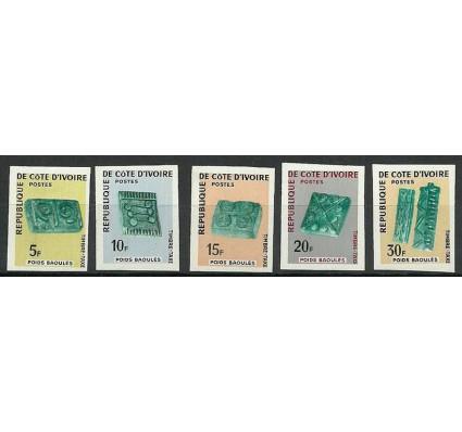 Znaczek Wybrzeże Kości Słoniowej 1968 Mi por 29-33B Czyste **