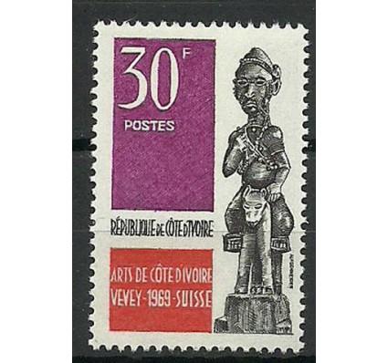 Znaczek Wybrzeże Kości Słoniowej 1969 Mi 345 Czyste **