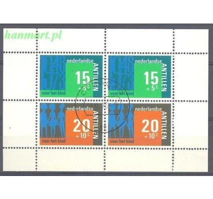 Antyle Holenderskie 1973 Mi bl 3 Stemplowane
