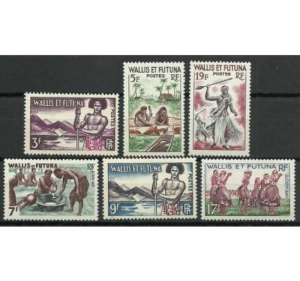 Znaczek Wallis et Futuna 1957 Mi 182-187 Czyste **