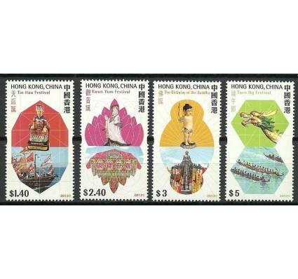 Znaczek Hong Kong 2012 Mi 1712-1715 Czyste **