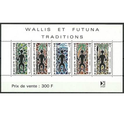 Znaczek Wallis et Futuna 1991 Mi bl 5 Czyste **