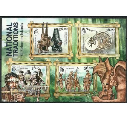 Znaczek Wyspy Salomona 2013 Mi ark 1636-1639 Czyste **
