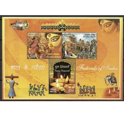 Znaczek Indie 2008 Mi bl 58 Czyste **