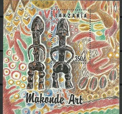 Znaczek Tanzania 1992 Mi bl 208 Czyste **