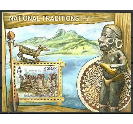 Znaczek Wyspy Salomona 2013 Mi bl 121 Czyste **