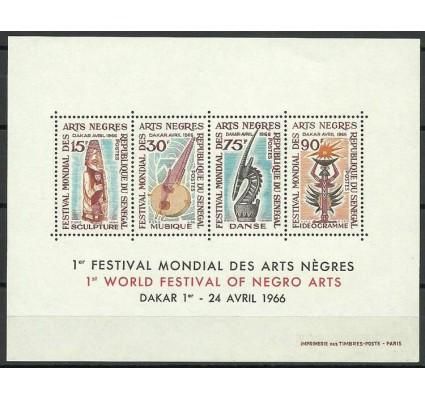 Znaczek Senegal 1966 Mi bl 3 Czyste **