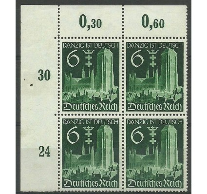 Znaczek Deutsches Reich / III Rzesza 1939 Mi 714 Czyste **