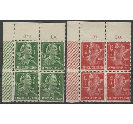 Znaczek Deutsches Reich / III Rzesza 1944 Mi 894-895 Czyste **