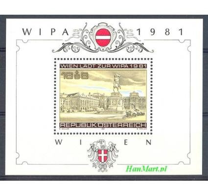 Znaczek Austria 1981 Mi bl 5 Czyste **