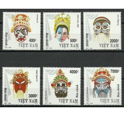 Znaczek Wietnam 1994 Mi 2581-2586 Czyste **