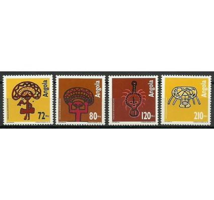 Znaczek Angola 1992 Mi 909-912 Czyste **