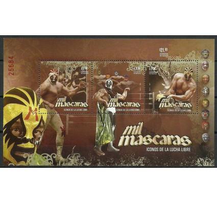 Znaczek Meksyk 2011 Mi bl 95 Czyste **