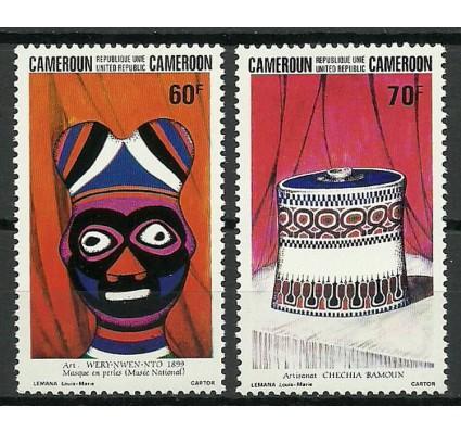 Znaczek Kamerun 1983 Mi 1014-1015 Czyste **
