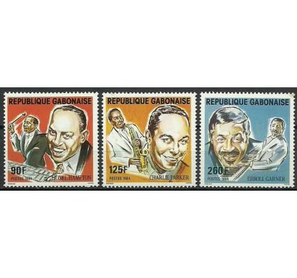 Znaczek Gabon 1984 Mi 907-909 Czyste **