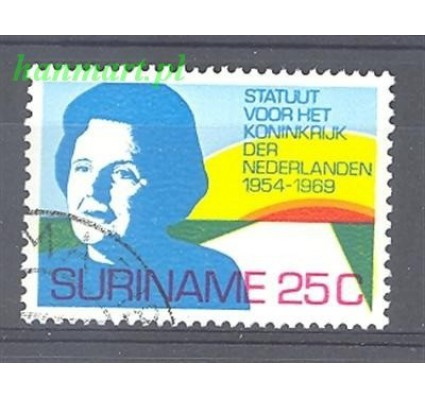 Znaczek Surinam 1969 Mi 569 Stemplowane