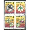 Filipiny 1995 Mi 2574-2577 Czyste **