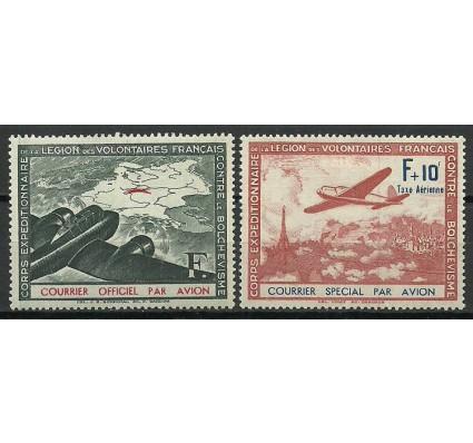 Znaczek Francja 1943 Mi timdegu2-3 Z podlepką *
