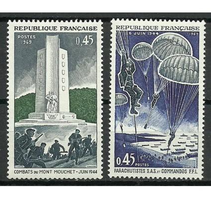 Znaczek Francja 1969 Mi 1674-1675 Czyste **