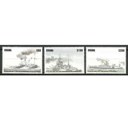 Znaczek Ghana 1994 Mi 2047-2049 Czyste **