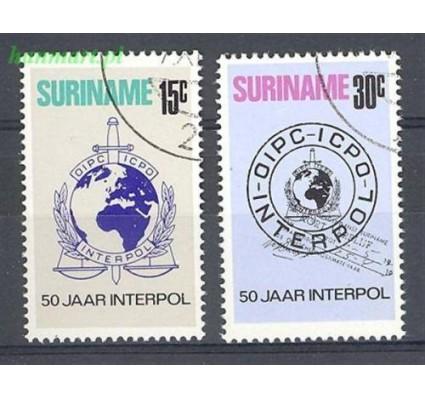 Surinam 1973 Mi 656-657 Stemplowane