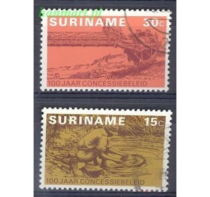 Surinam 1975 Mi 687-688 Stemplowane