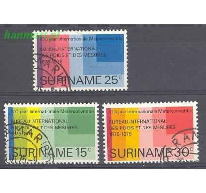Surinam 1975 Mi 695-697 Stemplowane